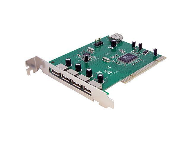 StarTech 7 Port PCI USB Card Adapter Model PCIUSB7