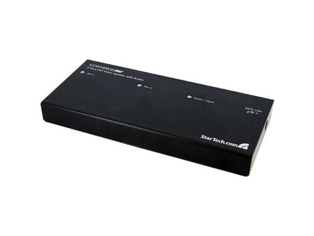 StarTech ST122DVIA 2 Port DVI Video Splitter with Audio