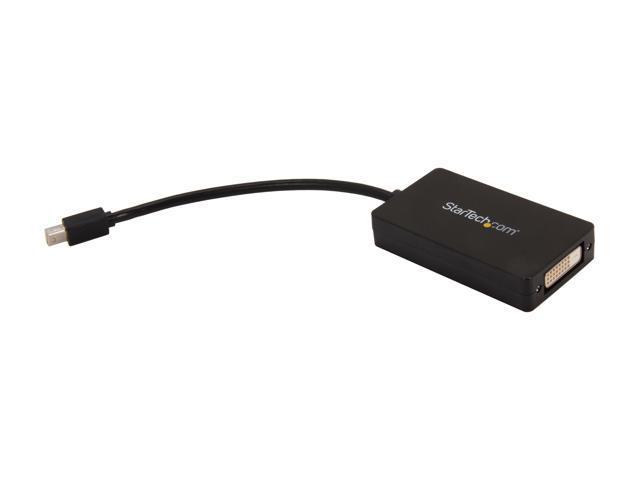 StarTech MDP2DPDVHD Mini DisplayPort to DisplayPort / DVI / HDMI Multifunction Adapter