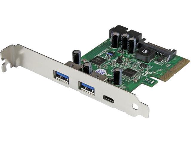 StarTech Add-On Card Model PEXUSB312EIC