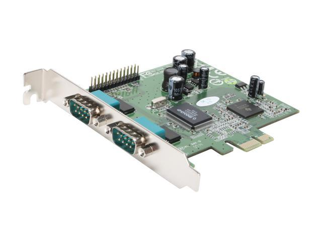 Koutech Dual Serial/Single Parallel PCI Express (x1) Card Model KW-222NE
