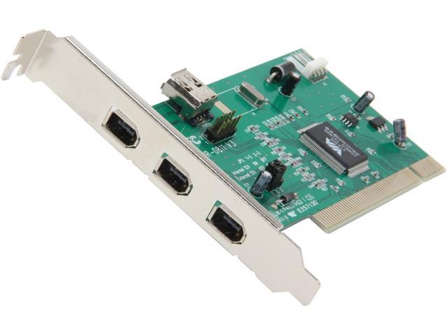 Inland PCI to IEEE 1394 Card (3 port) Model 08323
