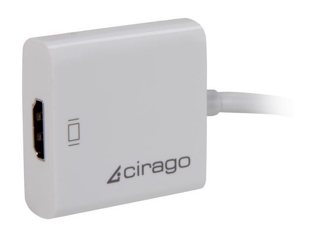 Cirago DPN2032 Mini DisplayPort to HDMI Adapter