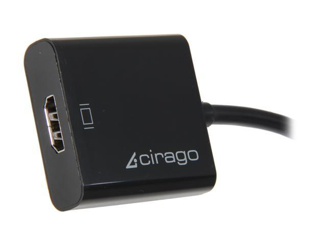 Cirago DPN1031 DisplayPort to HDMI Adapter