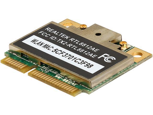 Silverstone Wi-Fi mini PCI-E Expansion Module with High-Speed 802.11ac Model ECW02