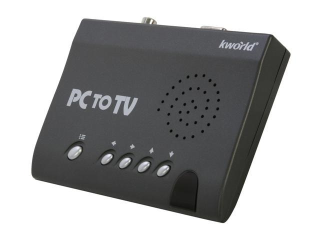 KWorld PlusTV PC to TV Converter SA235 USB 2.0 - View Your PC/Laptop Contents on TV