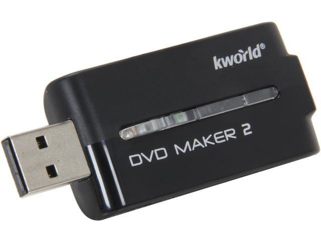 KWorld USB Video Editing Device VHS to DVD Maker 2 with Cyberlink Power Direct 7 software