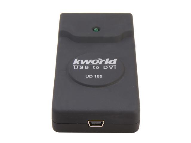 Kworld UD165 External Video Card Multimedia Converter 1920 Full HD PC to TV
