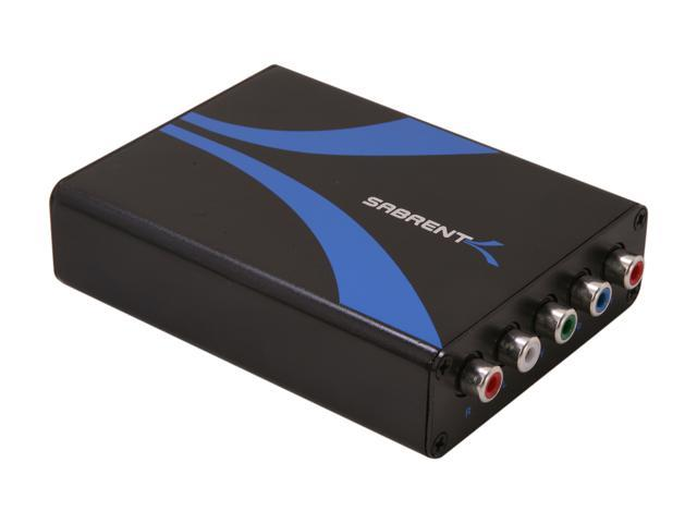 SABRENT DA-HDCP HDMI To Component (ypbpr) RGB Video And RCA Stereo Audio Converter