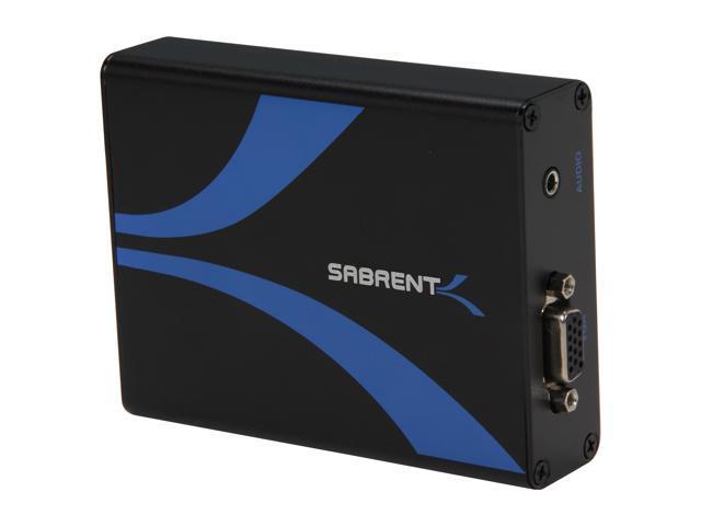 SABRENT DA-HDVG HDMI to VGA with Audio Converter