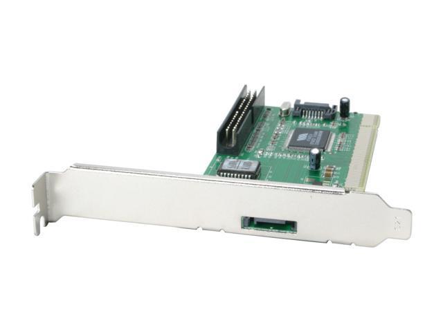MASSCOOL PCI Card, 1 external SATA + 2 internal SATA and 1 internal IDE Model XWT-RC018