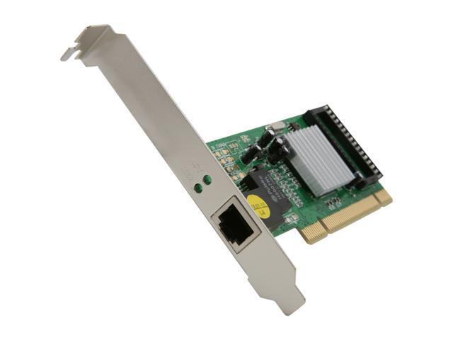 BYTECC PCI 10/100/1000Mbps Ethernet Card Model BT-P1GL