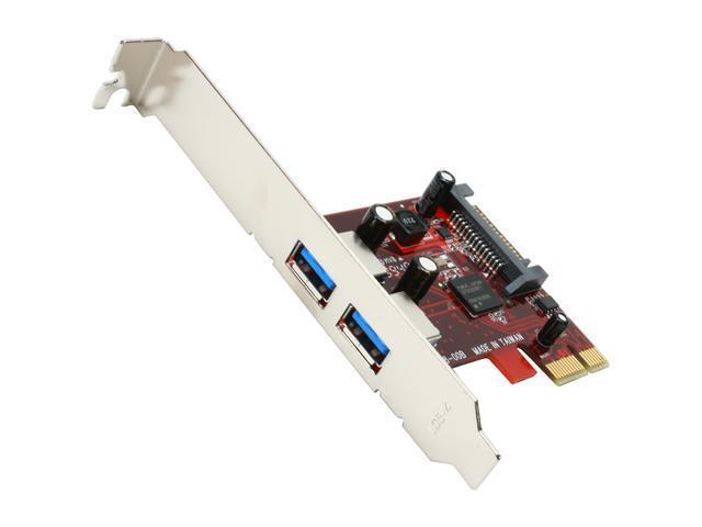 VANTEC 2-Port SuperSpeed USB 3.0 PCI-E Host Card Model UGT-PC302