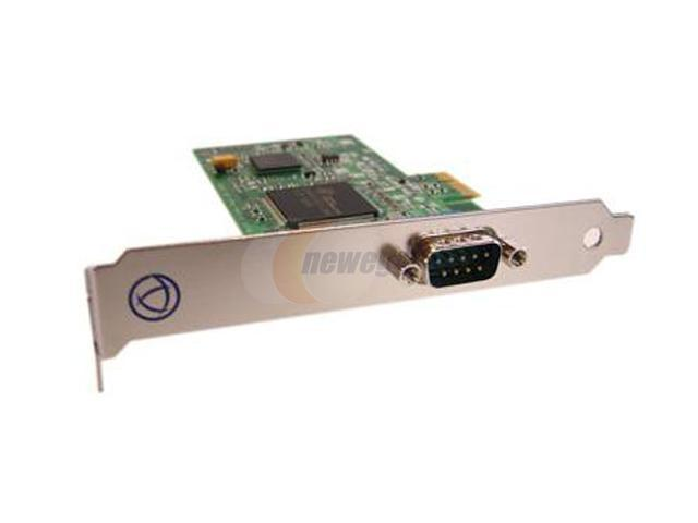 Perle UltraPort1 Express Low Profile PCI Serial Card Model 04003000