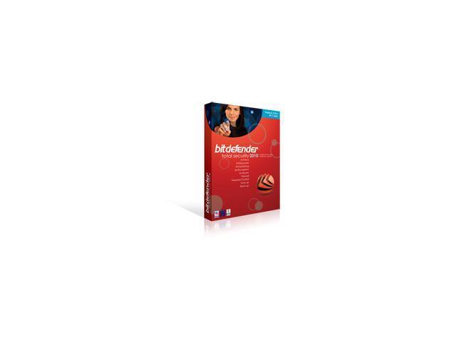 BitDefender, LLC. BitDefender Total Security 2010(3 PCs , 2 years)