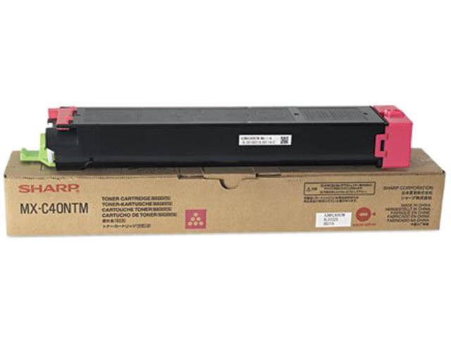 SHARP MXC40NTM Printer / Fax - Cartridges / Drums                           Magenta