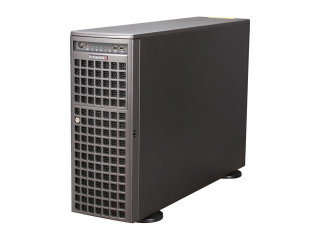 SUPERMICRO SYS-7046GT-TRF 4U Rackmountable / Tower Server Barebone Dual LGA 1366 Intel 5520 DDR3 1333/1066/800