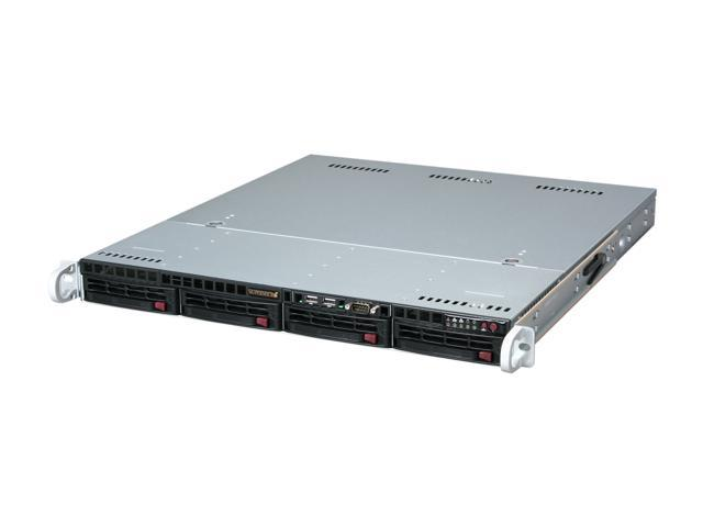 SUPERMICRO SYS-6016T-MTLF 1U Rackmount Server Barebone Dual LGA 1366 Intel 5500 DDR3 1333/1066/800