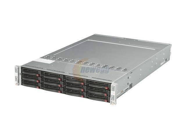 SUPERMICRO AS-2022TG-HiBQRF 2U Rackmount Server Barebone (Four nodes) Dual Socket G34 AMD SR5670 DDR3 1333/1066/800