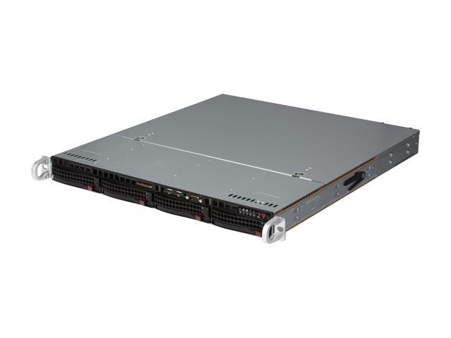 SUPERMICRO SYS-5017C-MTRF 1U Rackmount Server Barebone LGA 1155 Intel C202 DDR3 1333/1066/800