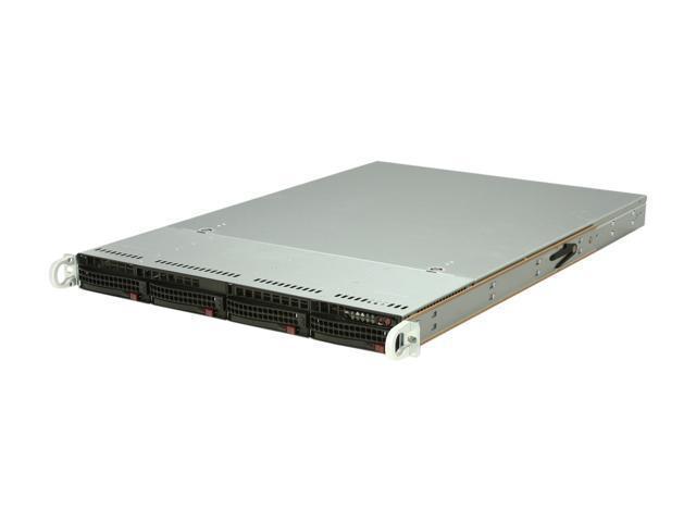 SUPERMICRO SYS-5017R-WRF 1U Rackmount Server Barebone LGA 2011 Intel C602 DDR3 1600/1333/1066