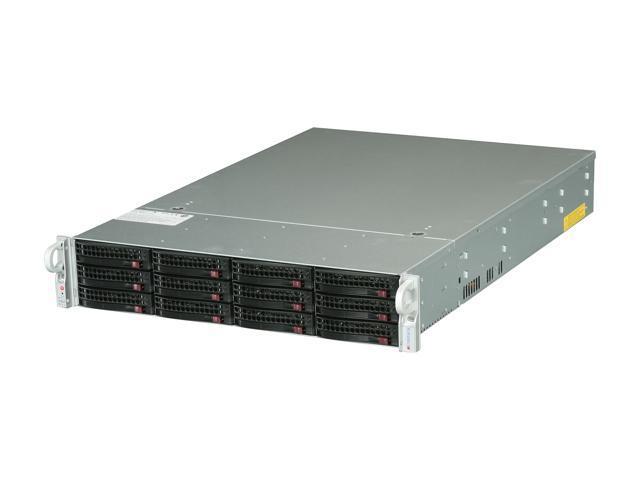 SUPERMICRO SSG-6027R-E1R12N 2U Rackmount Server Barebone Dual LGA 2011 Intel C602 DDR3 1600/1333/1066/800