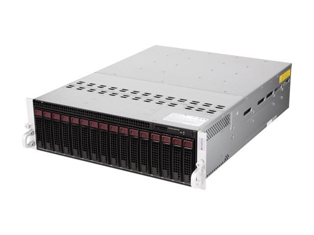 SUPERMICRO SYS-5037MC-H8TRF 3U Rackmount Server Barebone (Eight Nodes) LGA 1155 (per node) Intel C204 PCH DDR3 1333/1066