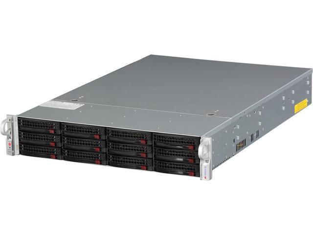 SUPERMICRO SSG-6027R-E1R12T 2U Rackmount Server Barebone Dual LGA 2011 Intel C602 DDR3 1866/1600/1333/1066/800