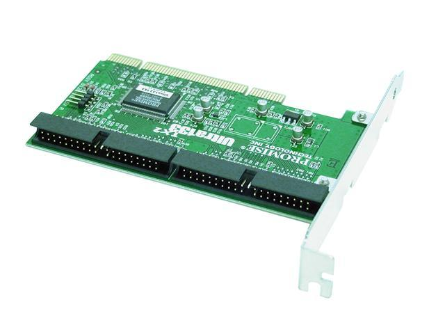 PROMISE ULTRA133 TX2 PCI IDE 66M PCI Controller Card - OEM