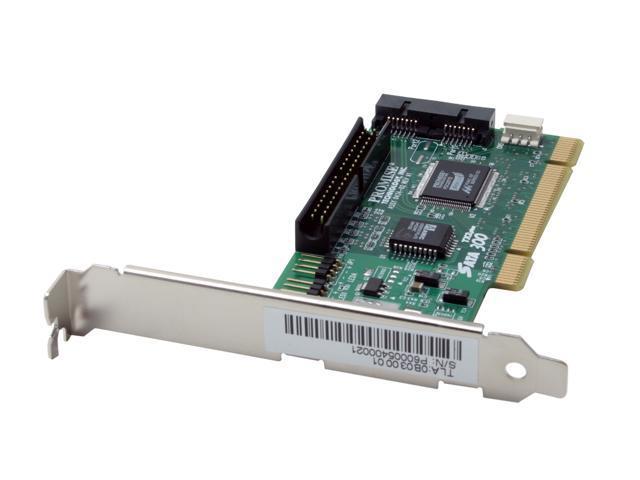 PROMISE SATA300 TX2plus PCI SATA II (3.0Gb/s) Cost-effective Controller Card