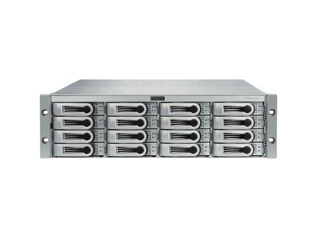 "PROMISE VTrak E-Class H1142VC/A RAID 0/1/1E/5/6/10/50/60 16 x Hot-swap 3.5"" Drive Bays Dual 4Gb Fibre Channel ports&#59; One ..."