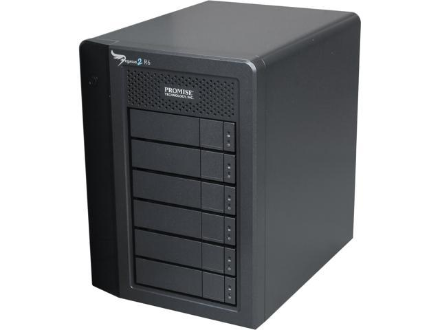 PROMISE Pegasus2 R6 P2R6HD18US RAID 0, 1, 5,6,10,50 6 3.5