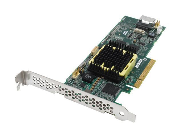 Adaptec RAID 5405 2258200-R SATA/SAS 4 internal ports w/ 256MB cache memory Controller Card, Single