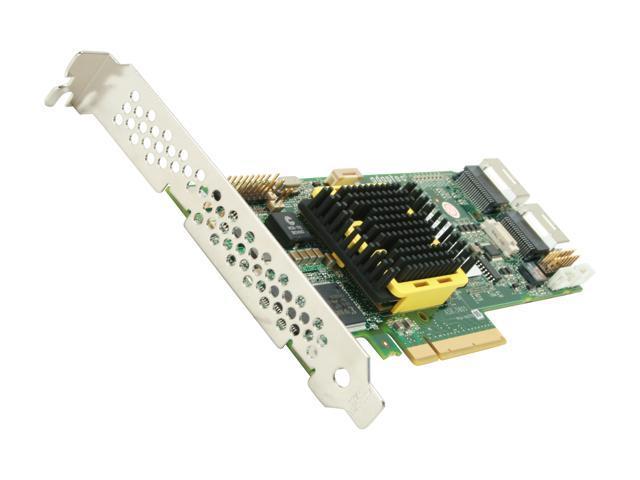 Adaptec RAID 5805 2244100-R SATA/SAS 8 internal ports w/ 512MB cache memory Controller Card, Kit