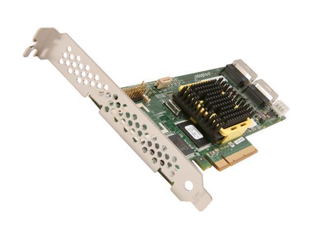 Adaptec 2269600-R PCI Express SATA / SAS w/ 128MB onboard RAM RAID 2805 Controller Card, KIT