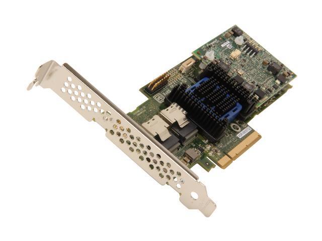 Adaptec 6Q Series 2273600-R PCI-Express 2.0 x8 SATA / SAS maxCache 6805TQ RAID Controller Card