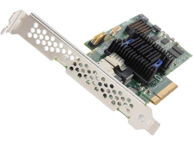 Adaptec 6T Series 2272800-R PCI-Express 2.0 x8 SATA / SAS 6805T RAID Controller Card
