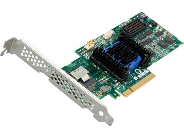 Adaptec RAID 6405T 2272700-R PCI-Express 2.0 x8 SATA / SAS RAID Controller Card