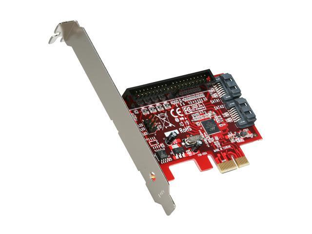 Koutech IO-PESI330 PCI Express x1 Low Profile Ready SATA III (6.0Gb/s) Controller Card