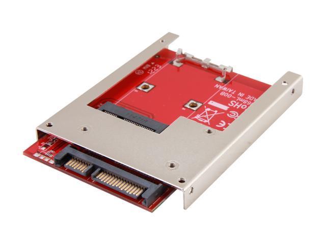 "Koutech IO-ASS111 Latch mSATA to 2.5"" SATA Device Converter with Metal Frame"