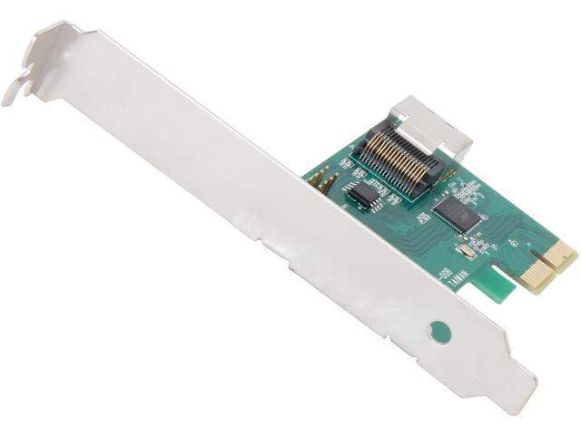 Koutech IO-SFF483 PCI-Express 2.0 Low Profile Ready SATA / SAS Controller Card