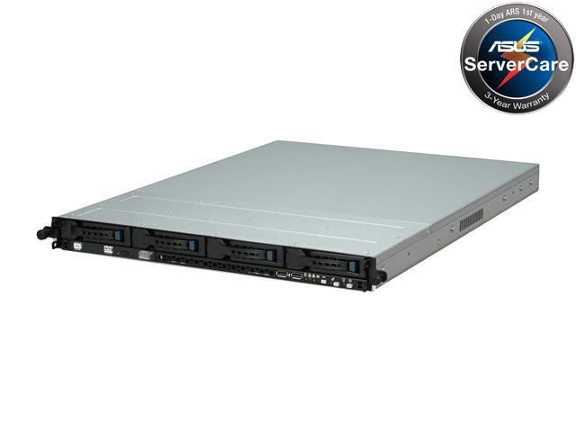 ASUS RS500-E6/PS4 1U Rackmount Server Barebone Dual LGA 1366 Intel 5500 IOH DDR3 1333/1066/800