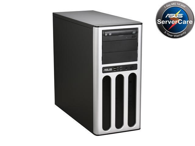 ASUS TS100-E6/PI4 Pedestal Super-quiet & Dual Use UP Server Barebone for SMB Applications LGA 1156 Intel 3420 DDR3 1333/1066/800