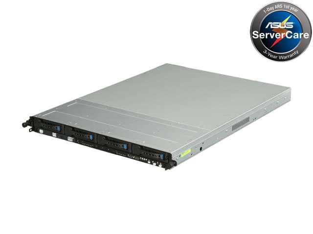 ASUS RS500A-E6/PS4 1U Rackmount Server Barebone Dual Socket G34 AMD SR5650 DDR3 1600/1333/1066/800