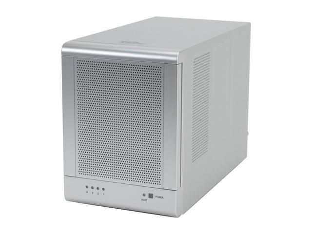 SANS DIGITAL TR4M 4 Bay SATA to eSATA (Port Multiplier) JBOD Enclosure