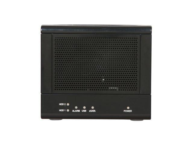 SANS DIGITAL TR2UT-B 2 Bay SATA to USB 2.0 / eSATA JBOD / Spanning Enclosure