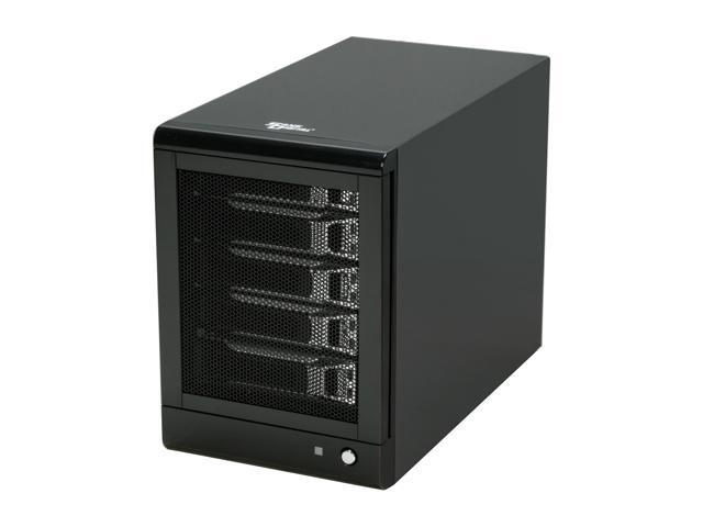 SANS DIGITAL TR5M-B 5 Bay SATA to eSATA (Port Multiplier) JBOD / RAID 0, 1, 1+0, 5 Enclosure (Black)