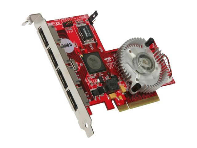 SANS DIGITAL HA-DAT-4ESPCIE PCI-Express x8 SATA II (3.0Gb/s) Controller Card