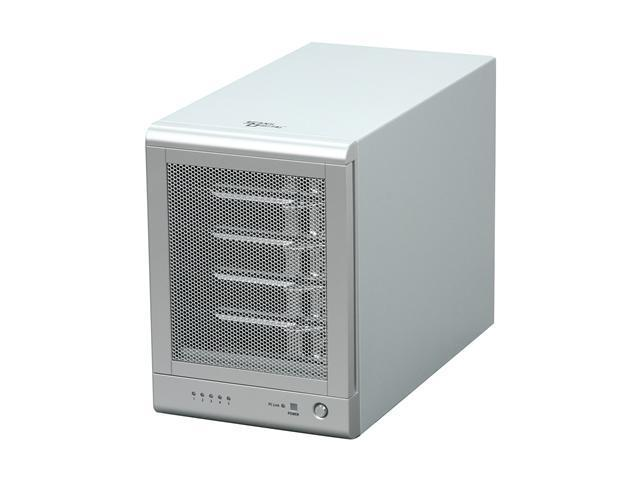 SANS DIGITAL TowerRAID TR5UT 5 Bay SATA to USB2.0 / eSATA Hardware RAID 5 Enclosure (Silver)
