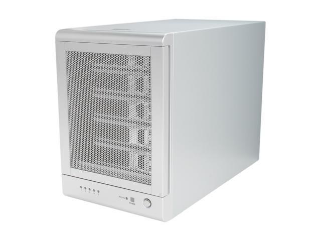 SANS DIGITAL TowerRAID TR5UTP 5 Bay USB 3.0 / eSATA Hardware RAID 5 Tower w/ 6G PCIe 2.0 HBA (Silver)